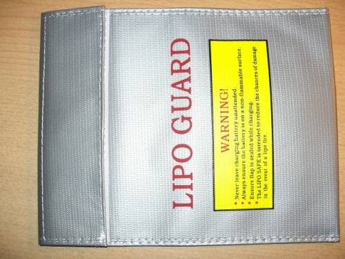 LiPo Safe Guard 180mm x 230mm Sack Tasche