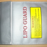 LiPo Safe Guard 300mm x 230mm Sack Tasche